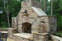 waterfall-fireplace